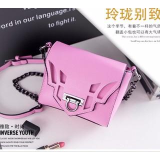 Túi xách messenger nắp cut out - Túi xách đeo chéo nữ - B036 5