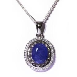 Mặt dây Sapphire tự nhiên