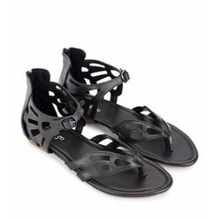 Giày Sandal kẹp ngón, màu đen