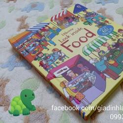 Look Inside Food - Usborne Book