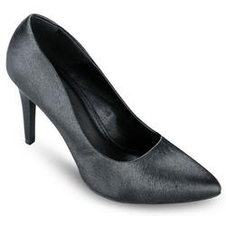 Giày cao gót mũi nhọn màu đen