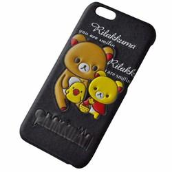 Ốp lưng iphone 4 4s gấu hình 3D họa tiết nổi