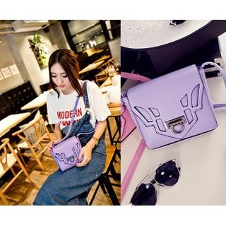 Túi xách messenger nắp cut out - Túi xách đeo chéo nữ - B036 thumbnail