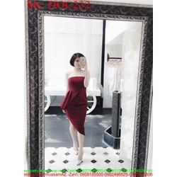 Đầm body cúp ngực thiết kế xẻ chéo sành điệu sang trọng DOC232 View