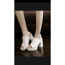 Giày Nữ Giày Xăng đan đế vuông G113