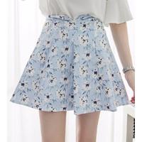chân váy hoa đính hạt Mã: VN463 - 1
