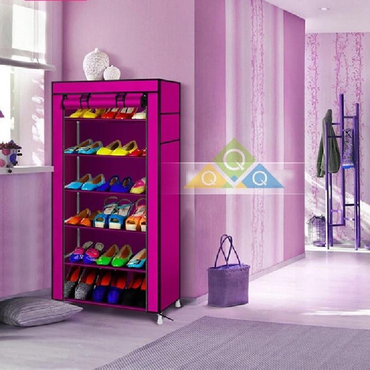 Tủ giày dép 7 tầng 6 ngăn 6