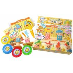Bộ đồ chơi đất nặn bằng bột gạo Nhà tạo mẫu tóc GINCHO