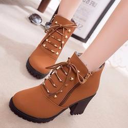 B09V- Giày boots nữ