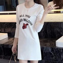 Đầm suông nữ thời  trang dạo phố trẻ trung năng động 2016