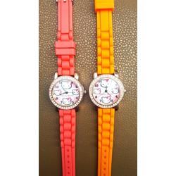 Shop SuSu - Đồng hồ Kitty dây cao su dễ thương