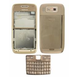Bộ vỏ Nokia E72 - Vàng đồng