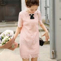 Đầm suông ren dễ thương