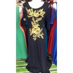 Đầm dạ hội họa dự tiệc HM1010