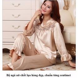 Bộ đồ ngủ nữ thời trang cao cấp 2016 - #589