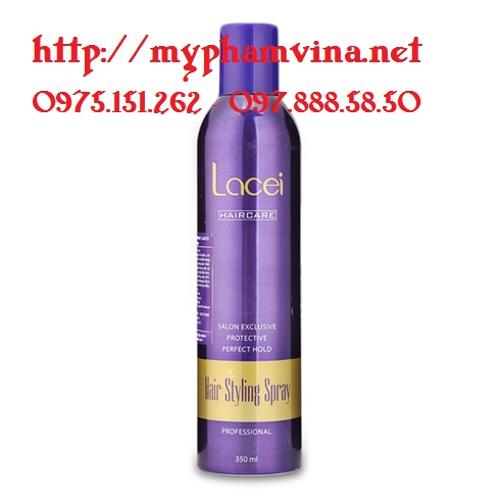 Keo xịt tóc cứng Lacei Hair Styling Spray 4