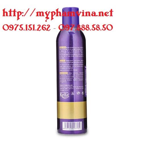 Keo xịt tóc cứng Lacei Hair Styling Spray 3