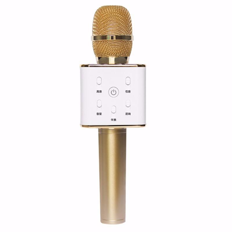 Hot micro Karaoke bluetooth Q7 chất lượng, giá rẻ tại bình dương