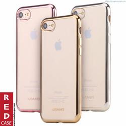 ỐP LƯNG IPHONE 7 VIỀN MÀU, DẺO - USAMS KIM Series