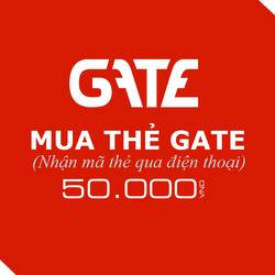 Mua thẻ Gate 50.000đ