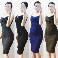 Đầm Body Nhủ Nhìu Màu - 380010