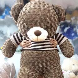 Gấu bông teddy áo len 1m4