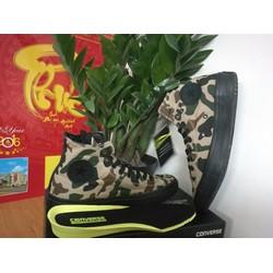 Giày thời trang Nam Nữ Replica Camo Lính Cao Cổ