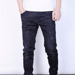 Quần Jeans skinny cao cấp màu xám tro