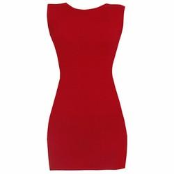 Áo váy đầm thun nữ dáng ôm form dài sát nách ZENKO CS4 DAM 0065 DR