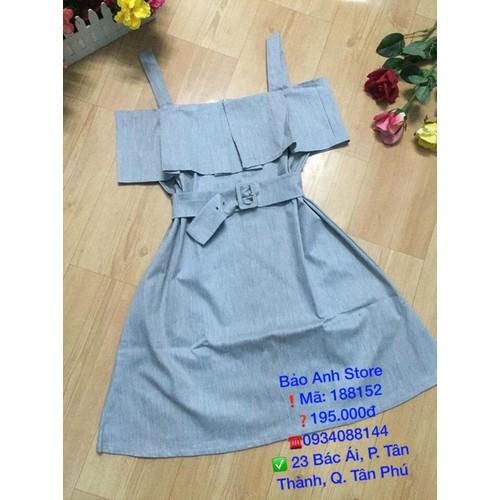 Đầm suông kèm nịt rời