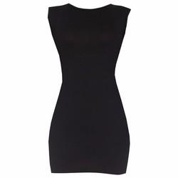 Áo váy đầm thun nữ dáng ôm form dài sát nách ZENKO CS4  DAM 0065 B