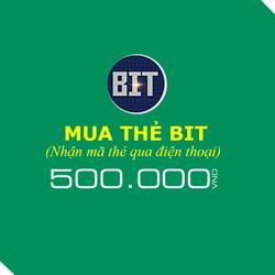 Mua thẻ BIT 500.000đ