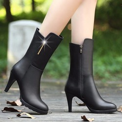 Giày bốt nữ cao cổ B029