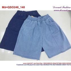 Quần short nữ lưng thun phối túi trẻ trung QSO248