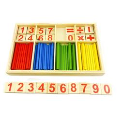 Bộ que tính toán học tập cho bé
