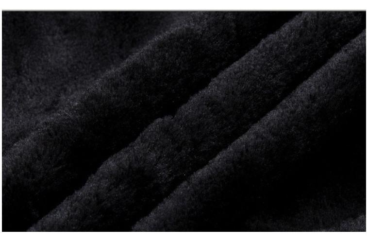 Áo khoác dạ nam lót lông AN45 5
