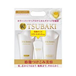 Bộ dầu gội và xả Shiseido Tsubaki trắng Damage Care