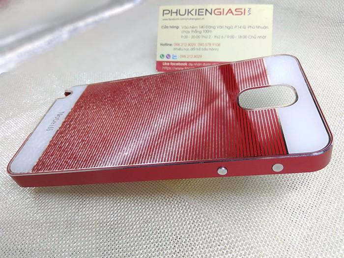 Ốp lưng mica sọc ngang viền nhôm cho Galaxy Note 3 6