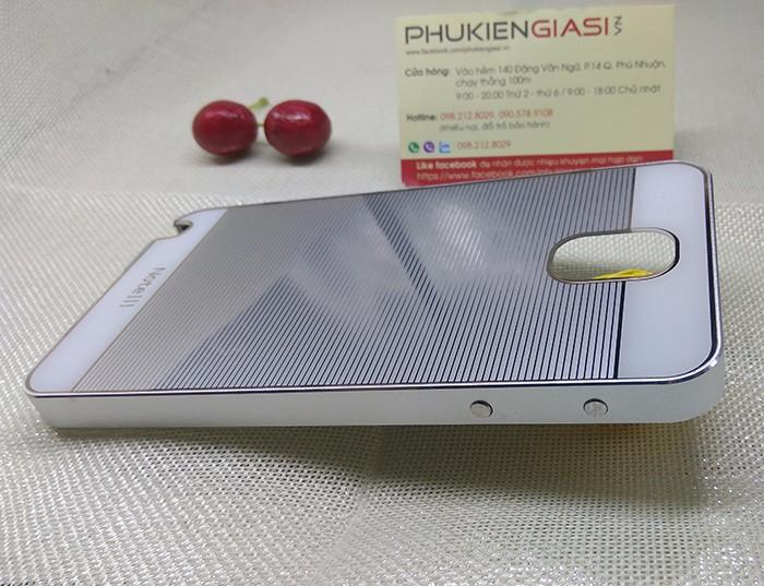 Ốp lưng mica sọc ngang viền nhôm cho Galaxy Note 3 10