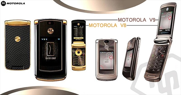 Motorola V8 gold sang trọng