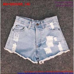 Quần short Jean nữ rách trẻ trung tinh nghịch QSO260