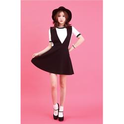 Đầm yếm khoác Ruby-TH08367