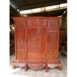 Tủ thờ gỗ căm xe rừng