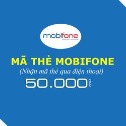 Mua thẻ Mobifone 50.000đ