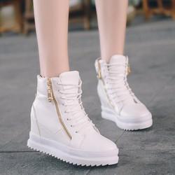 FREE SHIP - Giày sneaker nữ nâng đế cá tính phong cách Hàn - SG0324