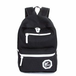 Balo đi học thời trang màu đen – W280