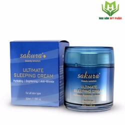 Mặt nạ ngủ Sakura Ultimate Sleeping Cream