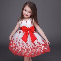 Đầm ren công chúa xinh xắn cho bé NX742