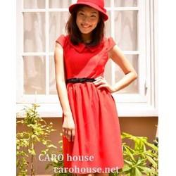 Đầm đỏ rạng rỡ