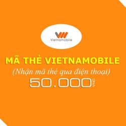Mua thẻ Vietnamobile 50.000đ